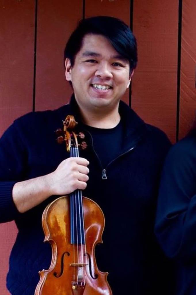 Paolo Reyes Tower String Quartet in Sacramento